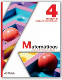 Resultado de imagen de matematicas 4 anaya